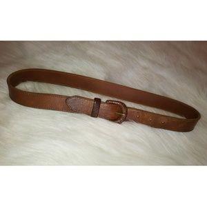 Coach British Tan Belt